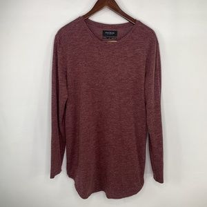 Pac Sun Scallop Fit Long Sleeve Tee